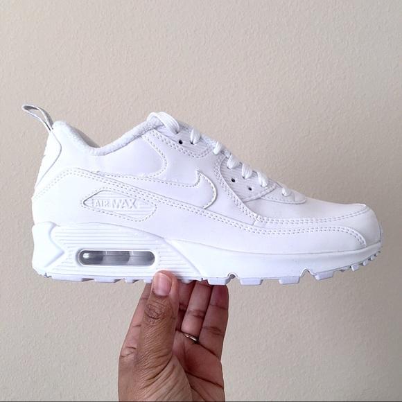 Women's Custom White Nike ID Air Max 90 Size 6.5 NWT